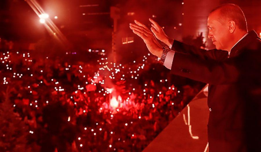 ربح أردوغان الانتخابات وهو خاسر