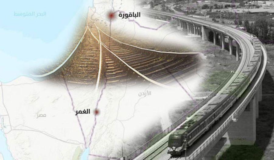مشروع خط سكة حديد حيفا - إربد الإقليمي  يفضح عمق علاقة النظام الأردني بيهود