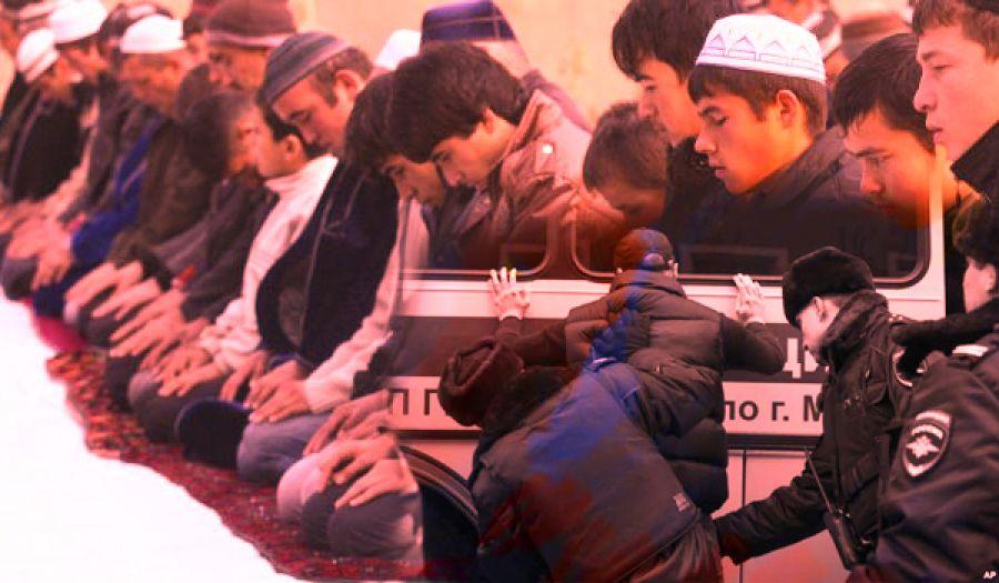 اضطهاد روسيا المجرمة لمسلمي تتار القرم وخاصة شباب حزب التحرير