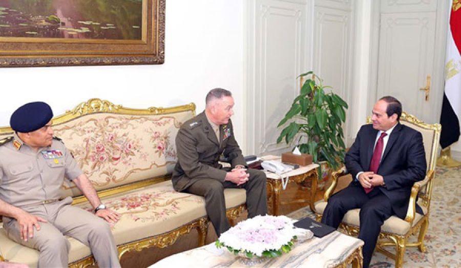 رئيس هيئة الأركان الأمريكية  يشدد على دور مصر المحوري في الشرق الأوسط