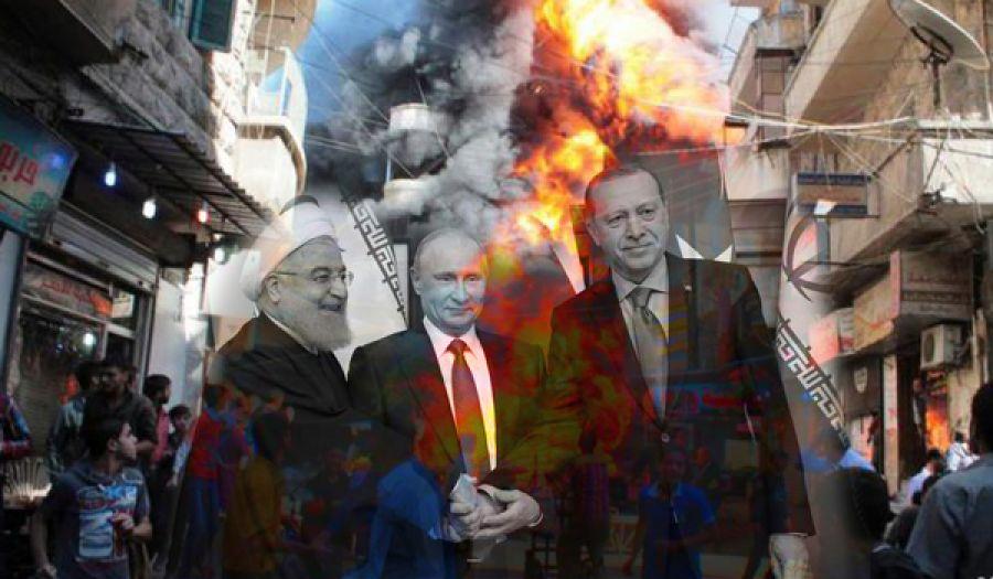 ثالوث الإجرام الضامن أداة أمريكا للقضاء على ثورة الشام