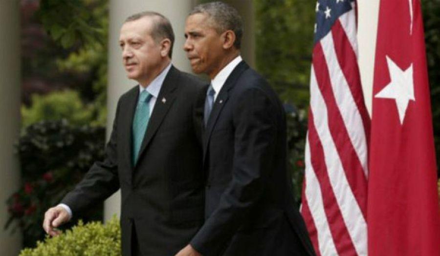 """حكام تركيا وتنسيقهم المستمر مع أمريكا عدوة الإسلام والمسلمين     تركيا والولايات المتحدة """"مستعدتان"""" لضرب """"تنظيم الدولة"""" في الرقة"""