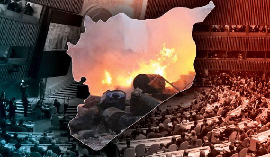 الحل السياسي الأمريكي في سوريا  دلالات واضحة وحقائق صارخة