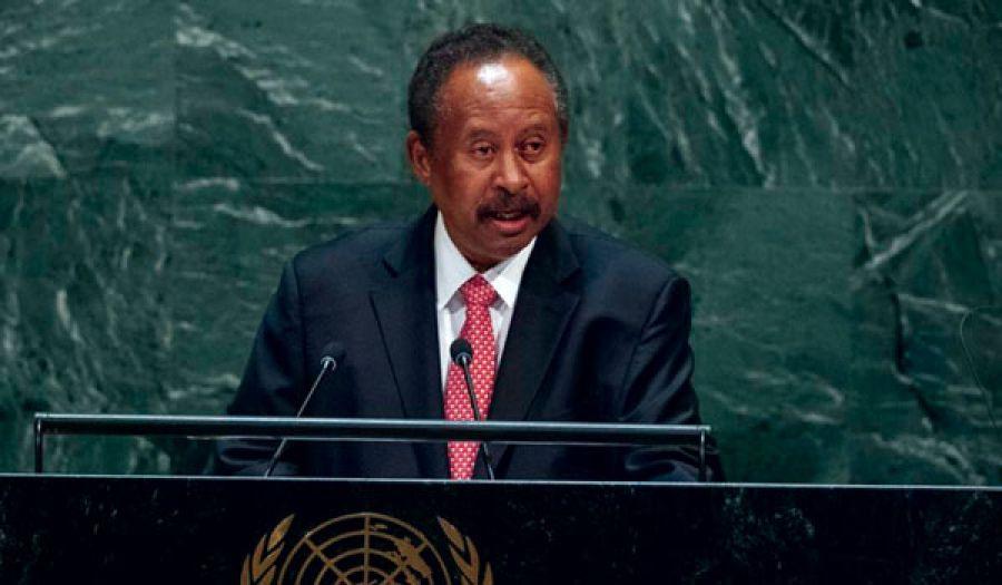 خطاب حمدوك أمام الأمم المتحدة  والفشل في استلام مفاتيحه المزعومة للنجاح!!