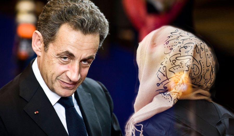 الرئيس الفرنسي السابق ساركوزي: امنعوا ارتداء الحجاب الإسلامي في الجامعات