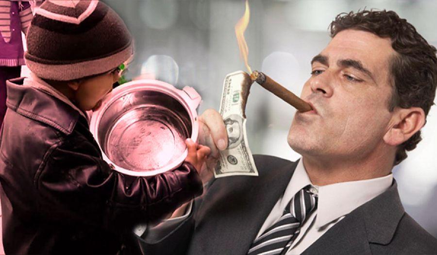 في ظل الرأسمالية 26 مليارديراً يملكون نصف أموال البشرية!