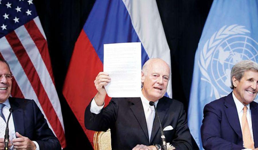 دي ميستورا يحث المُعارَضة السورية على قبول الأسد في فترة انتقالية