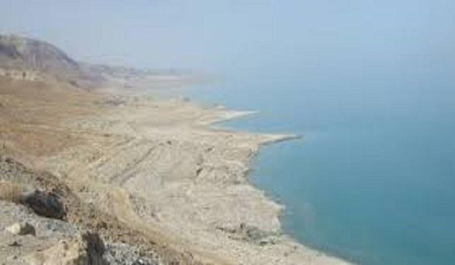 سياسة كيان يهود في تجفيف البحر الميت  سياسة مقصودة الهدف منها تمرير مخططاته الخبيثة