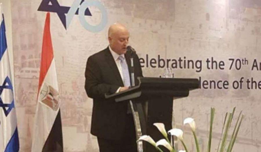 كيان يهود يقيم احتفالات في القاهرة  تزامنا مع اغتصابه للأرض المباركة فلسطين