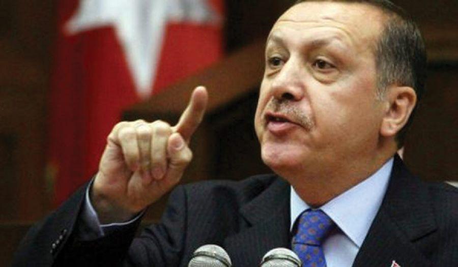 """أردوغان: """"لن نسمح بإقامة دولة على حدودنا الجنوبية"""""""