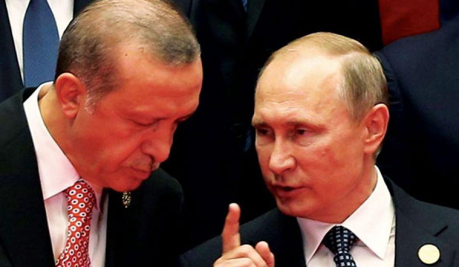 أردوغان شريك للمجرم بوتين  ومتعاون معه في مؤامراته ضد أهل الشام
