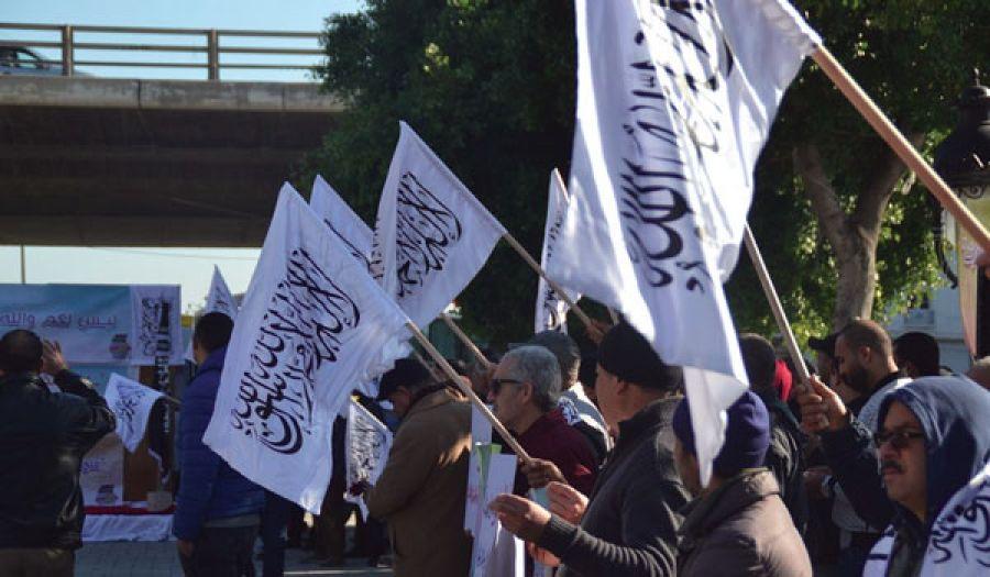 حزب التحرير/ ولاية تونس  فعاليات في ذكرى الثورة  المتزامنة مع ذكرى فتح القسطنطينية