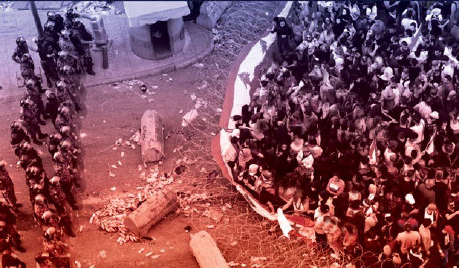 حَراك لبنان:  حركة دوليةٌ، وترهيب شارعٍ، وتسويف سلطةٍ