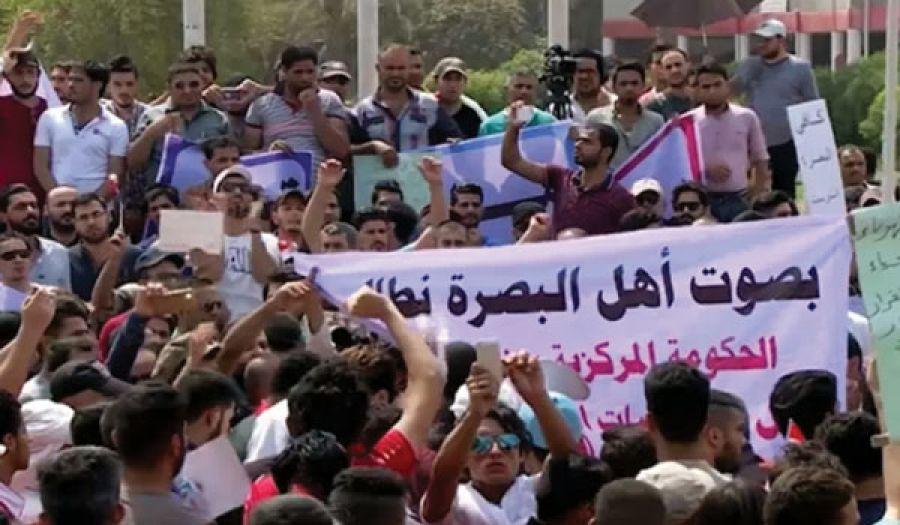 تظاهرات البصرة صفعة للمشروع الأمريكي في العراق