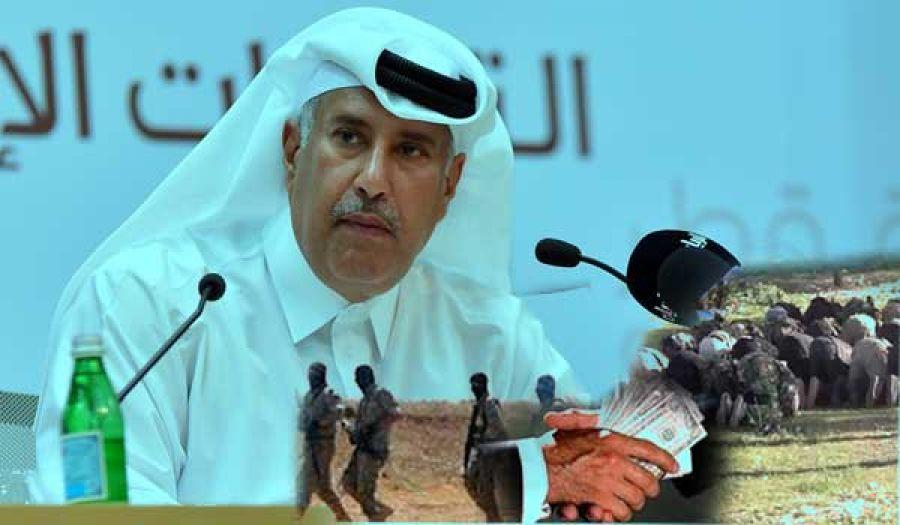 دعم قطر للجماعات المسلحة في سوريا هو لإجهاض الثورة