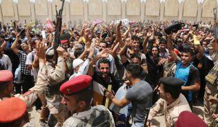 حكام العراق يتوسَّلون بتصريحاتٍ مُبَطنَةٍ تُرضي أمريكا، وتَكفِيهِم غضَبَ شَعبهِم
