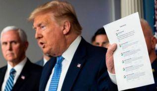 ترامب يعلق فشله في إدارة أزمة كورونا على منظمة الصحة العالمية