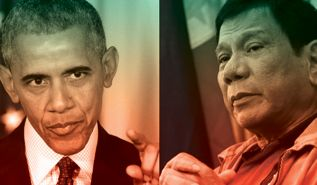 موقف حكومة الفلبين تجاه أمريكا