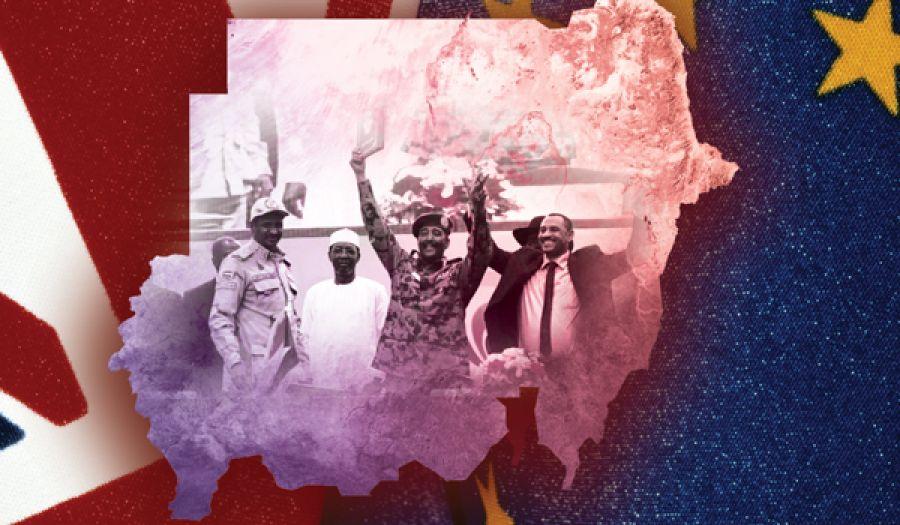جواب سؤال  الصراع بين أمريكا وأوروبا في السودان