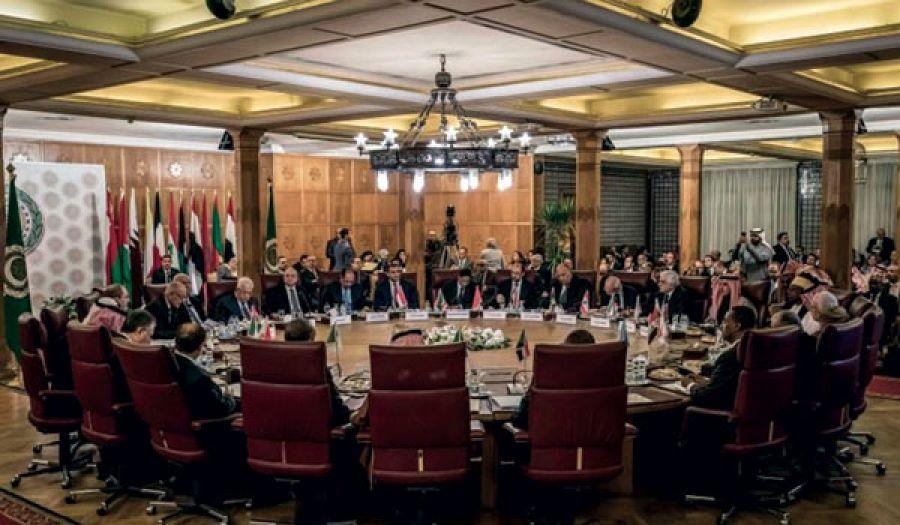 الجامعة العربية تدعي رفضها لصفقة القرن  وتؤكد على اعترافها باغتصاب يهود لفلسطين