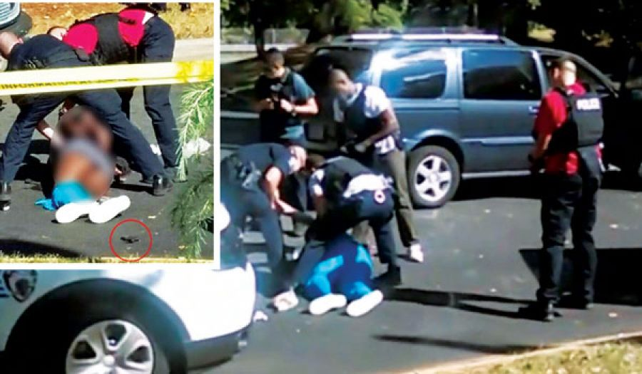احتجاجات عنيفة بعد مقتل رجل أسود برصاص الشرطة الأمريكية