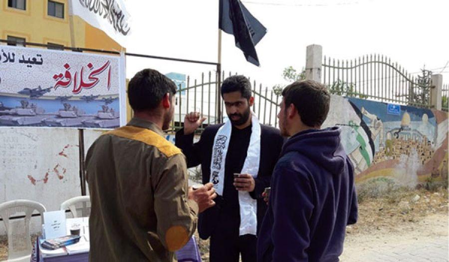 طاولات حوارية في غزة تناقش قضية الخلافة وفلسطين