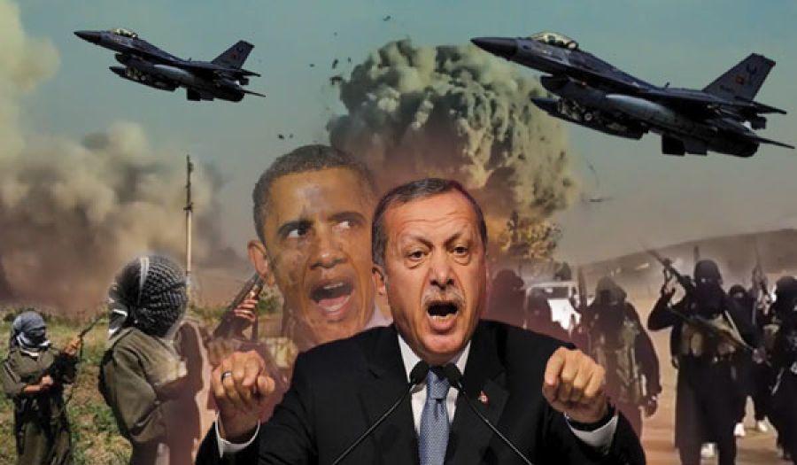 أهداف الهجوم التركي على مواقع تنظيم الدولة  ومواقع حزب العمال الكردستاني في سوريا والعراق