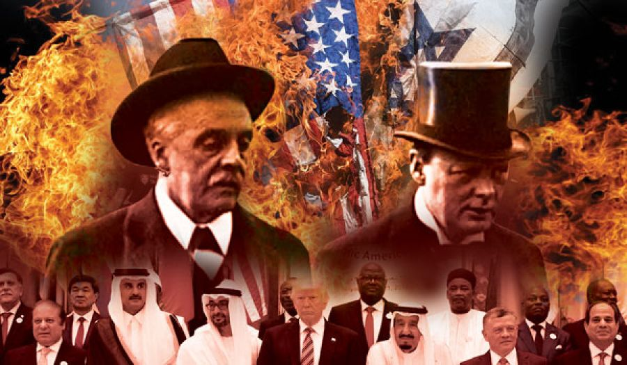 بعد سبعين عاما من تنفيذ وعد بلفور؛ بإقامة كيان يهود  كيان يهود يقبله الحكام.. وترفضه الشعوب الإسلامية