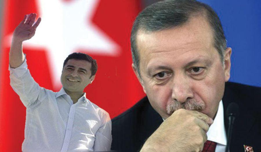 المشهد التركي الداخلي في ظل الخلاف  بين حزب أردوغان وحزب الشعوب الديمقراطي