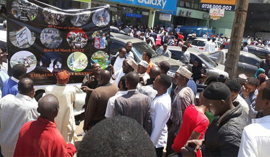 حزب التحرير/ كينيا  فعاليات واسعة بمناسبة الذكرى الـ98 لهدم الخلافة