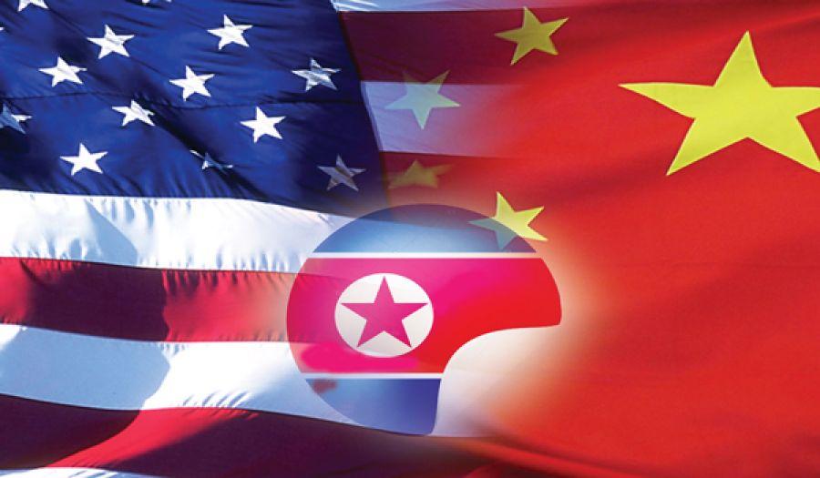 العلاقة بين أمريكا والصين، واتهام ترامب الصين بعرقلة جهوده مع كوريا الشمالية