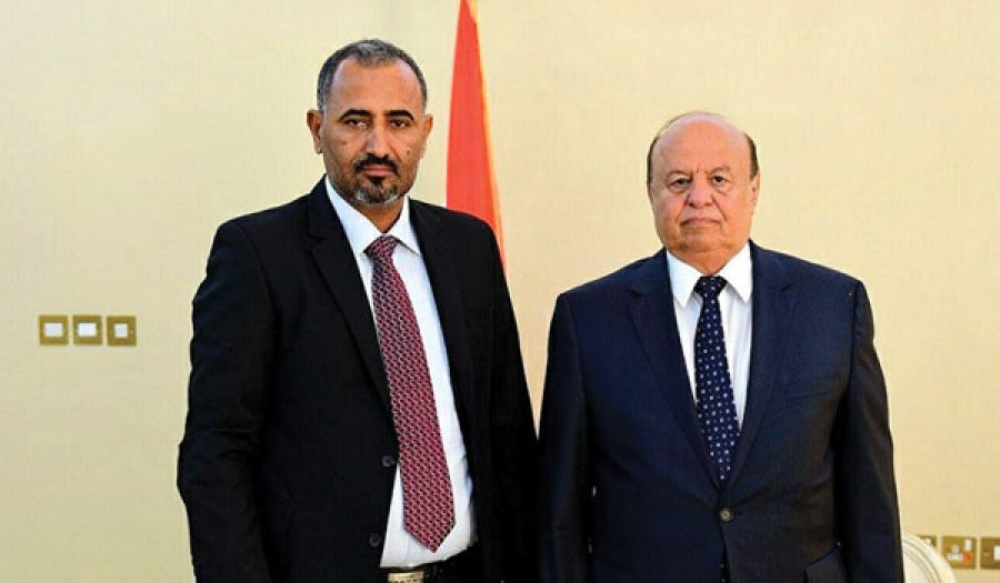 اتفاق هادي وعيدروس يراوح بين التأجيل والإمضاء