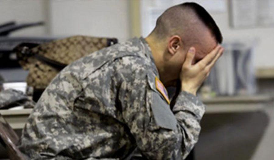 من ثمار الحضارة الرأسمالية  زيادة كبيرة في معدل انتحار جنود الجيش الأمريكي