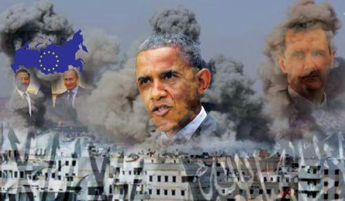 التآمر الدولي والإقليمي لإجهاض الثورة في سوريا