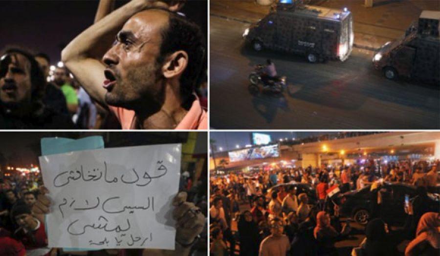 """في ظل تواصل المظاهرات المطالبة برحيل السيسي  """"الحل الوحيد الذي يضمن نجاح أي ثورة في بلاد المسلمين"""""""