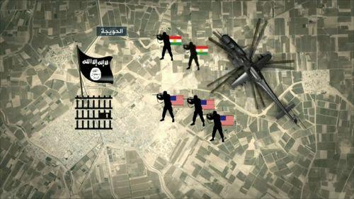 عملية إنزال الحويجة.. أمريكا تذل حكام العراق التابعين لها