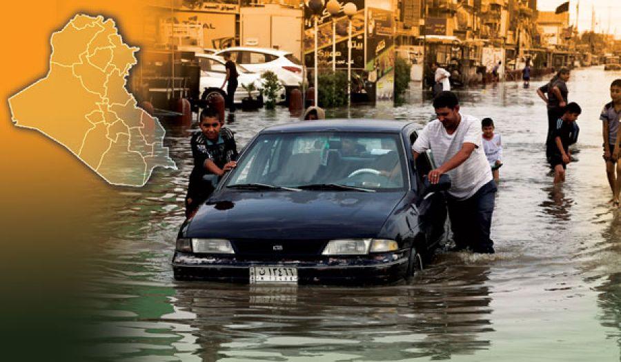 الفساد في العراق يُغرق مُدناً بأكملها بمياه الأمطار