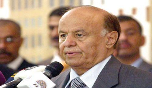 بعد إفلاته من حصار الحوثيين بصنعاءهادي يصل عدن