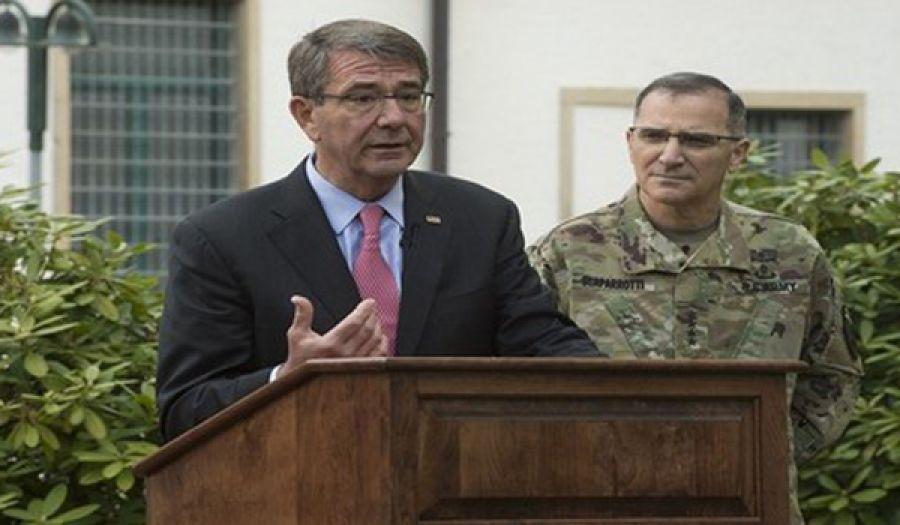 """أمريكا تعلن استمرارها احتلال أفغانستان لـ """"فترة طويلة"""" وتطالب قادة طالبان بالاستسلام آشتون كارتر: قواتنا ستبقى في أفغانستان"""