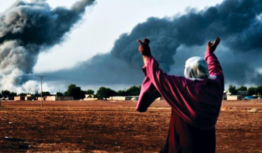 التحالف الصليبي يرتكب مجازر مروعة ضد المسلمين في مخيمات الباغوز