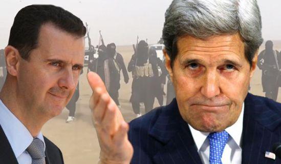 كيري: واشنطن ستضطر للتفاوض مع الأسد في النهاية