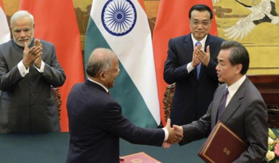الصين والهند توقعان صفقات تفوق قيمتها 22 مليار دولار