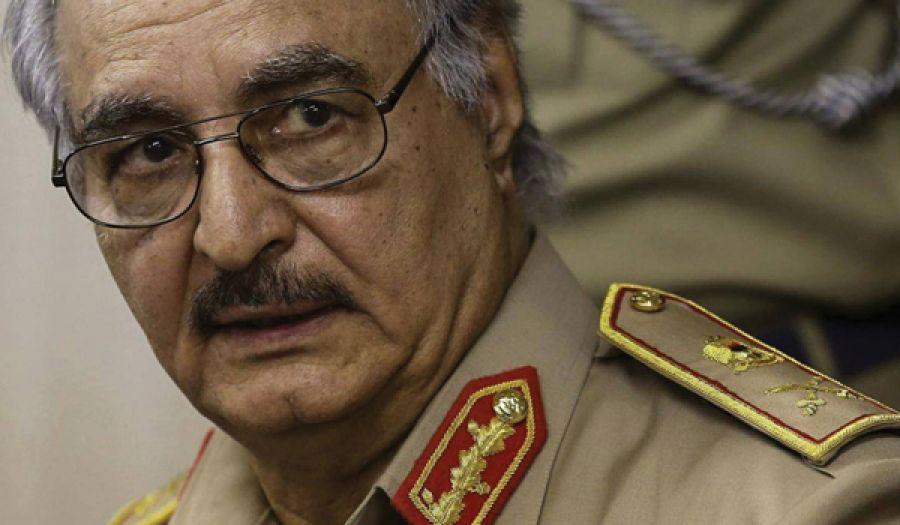 مصير حفتر والأزمة الليبية