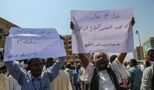 احتجاجات شعبية عارمة في السودان  ضد لقاء برهان بنتنياهو ورفضاً للتطبيع مع كيان يهود