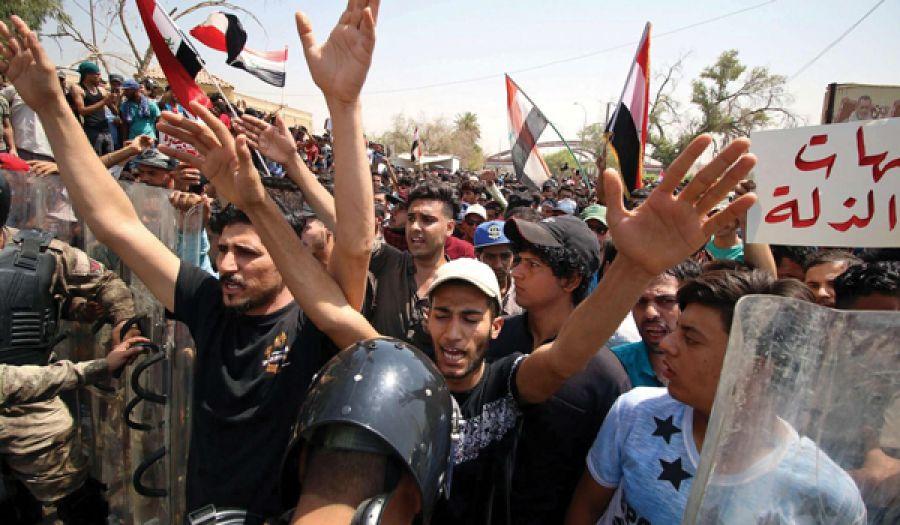 مظاهرات العراق حركت الحكومة النائمة