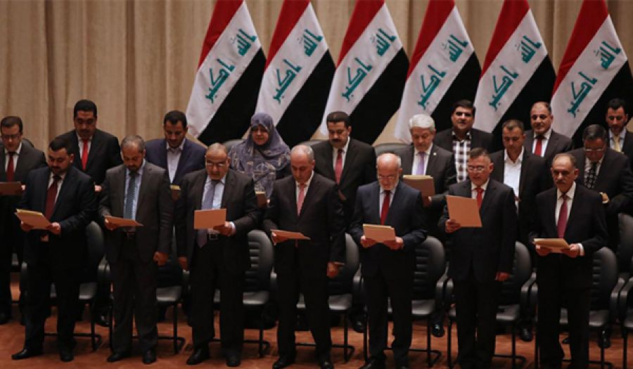 ولادة قيصرية مشوهة لحكومة عراقية فاشلة